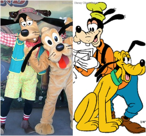 Goofy and Pluto (Mickey and Friends)