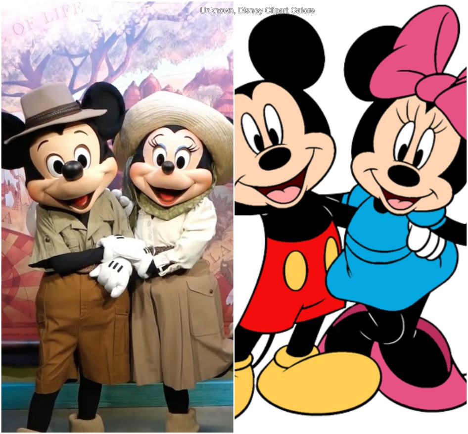 Mickey Mouse and Minnie Mouse (Mickey and Friends)