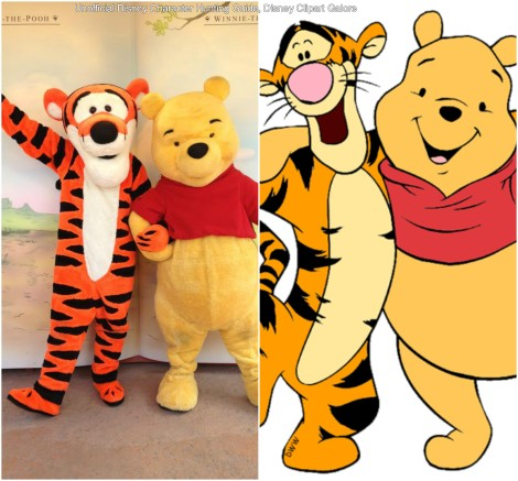 Pooh and Tigger (Winnie the Pooh)